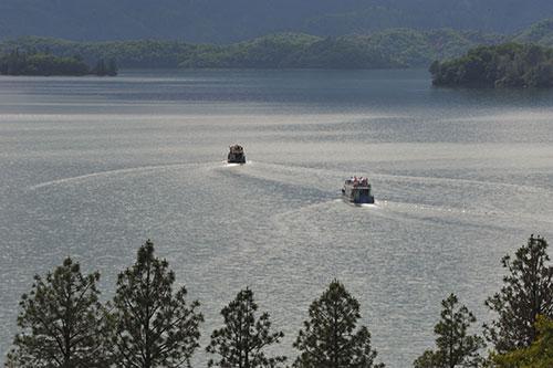 Travel facts shasta lake ca holiday harbor resort for Lake shasta fishing