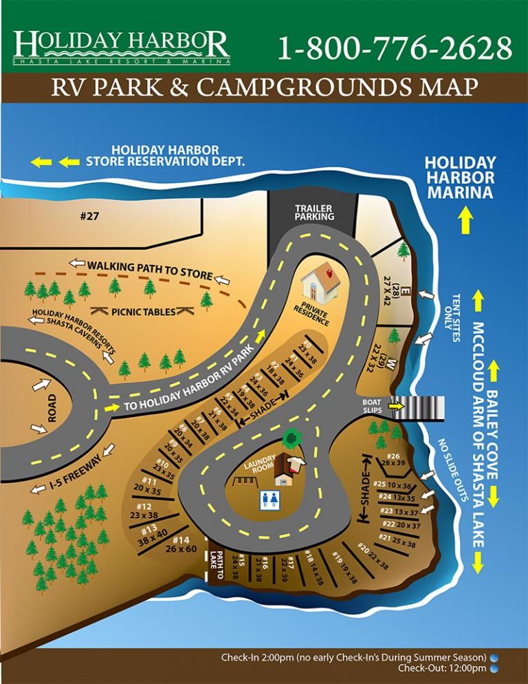 Camping Amp Rvs Shasta Lake Ca Holiday Harbor Resort