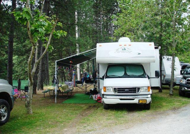 shasta lake holiday harbor rv campground