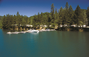 rv campground shasta lake