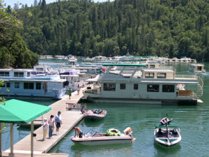 Best Marina for Houseboat Rentals at Shasta Lake